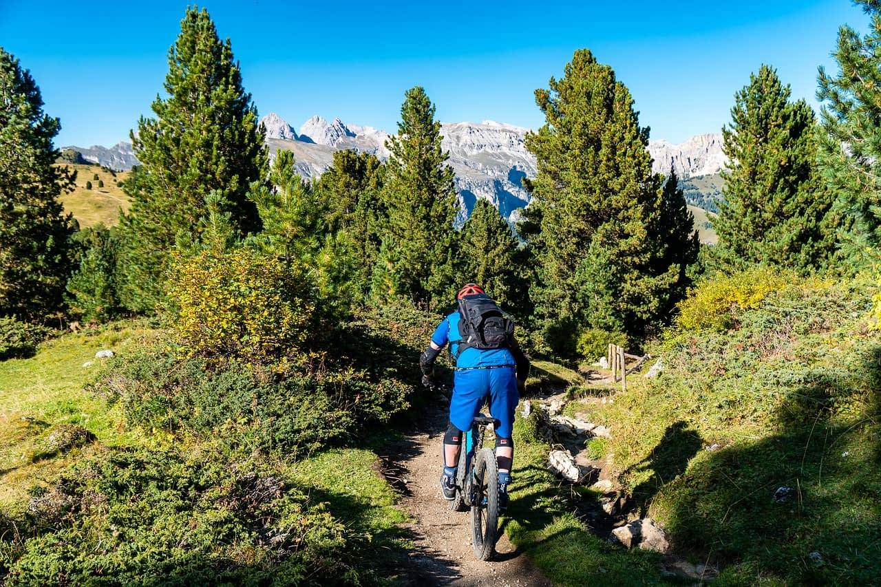 bicycle tour ride trail
