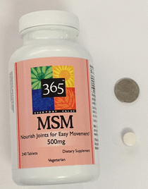 MSM supplement